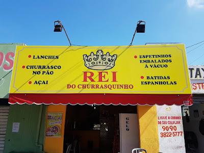 Rei do Churrasquinho agora em novo endereço em Registro-SP