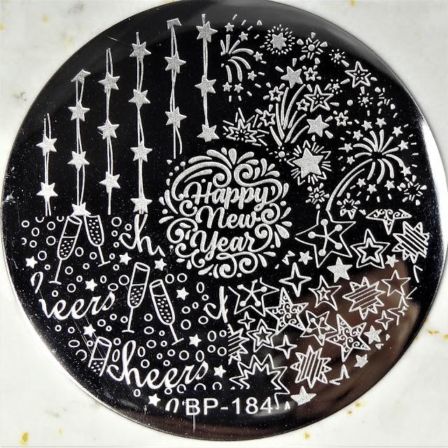 BornPrettyStore | Stamping Plate BP-184