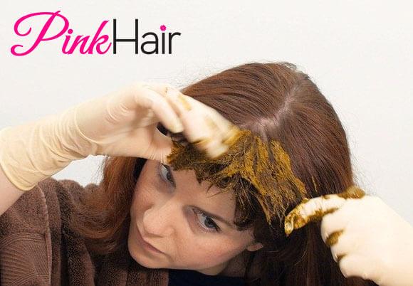 الحناء لتنعيم الشعر
