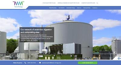 Tamar Energy webiste image.