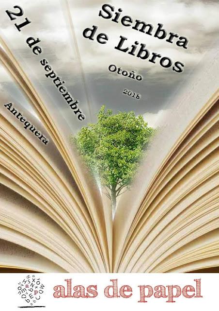Siembra de Libros de Otoño en Antequera