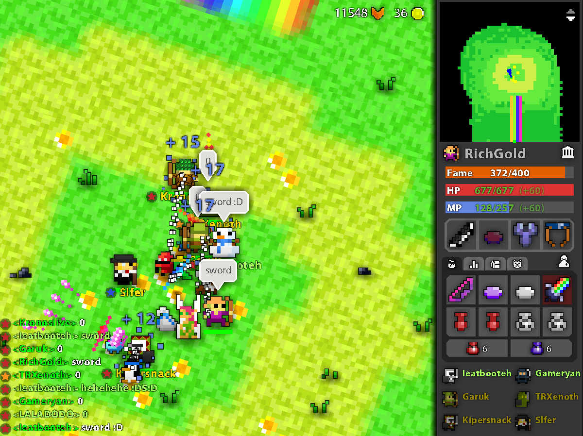 rotmg prism of dancing swords