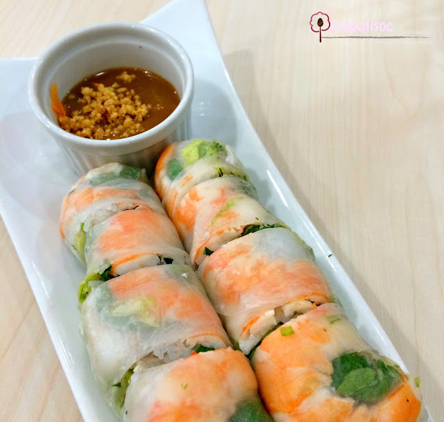 Fresh Special Spring Rolls from Tra Vinh