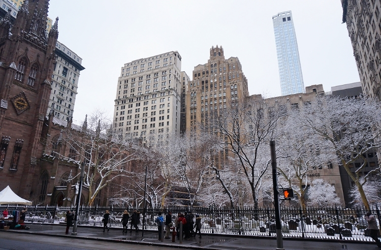 Euriental || fashion & luxury travel || New York city in the snow