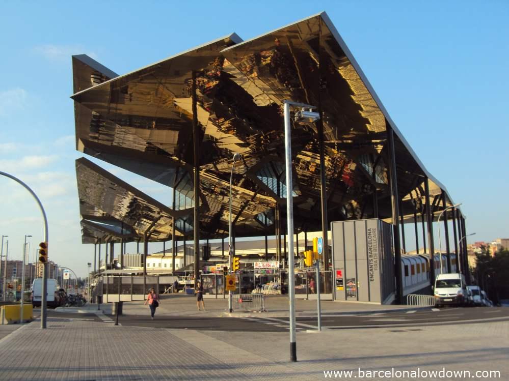Prancheta de arquiteto proj shopping mercat els encant - Encantes barcelona ...