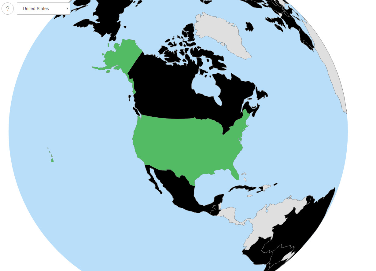 Eugenics Archives World Map