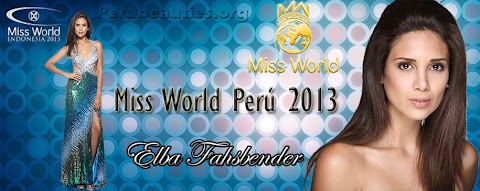 Elba Fahsbender rumbo al Miss World 2013