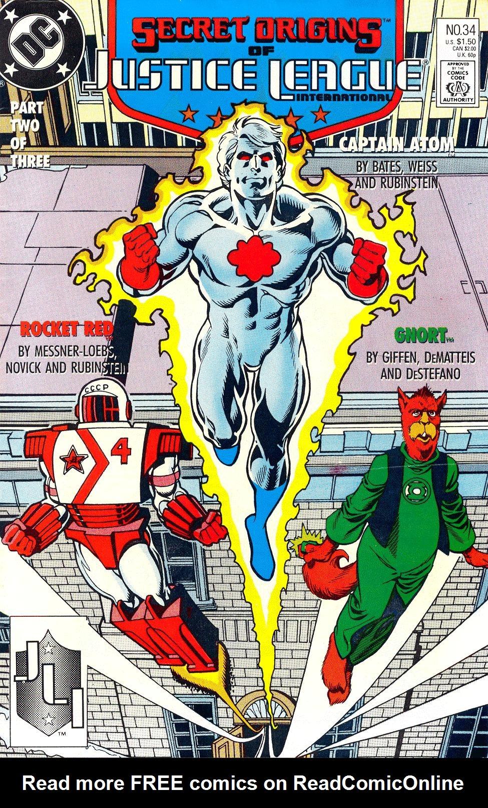 Read online Secret Origins (1986) comic -  Issue #34 - 1