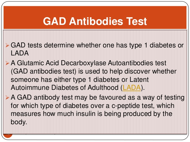 Latent autoimmune diabetes adults