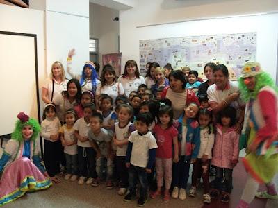 Ichoalay, Visitas, 2015, Escuelas