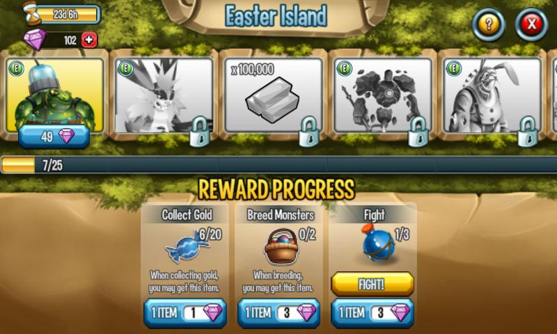 Monster Legends Guide: Easter Island Mobile Version: