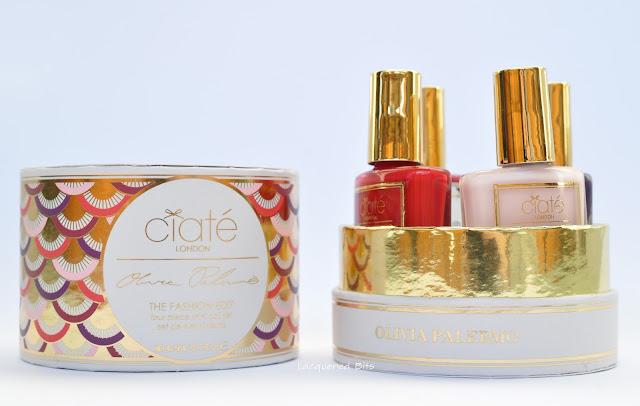 Ciaté London & Olivia Palermo The Fashion Edit Set - Swatches & Review