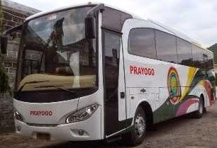 rute dan tarif bus prayogo yogyakarta