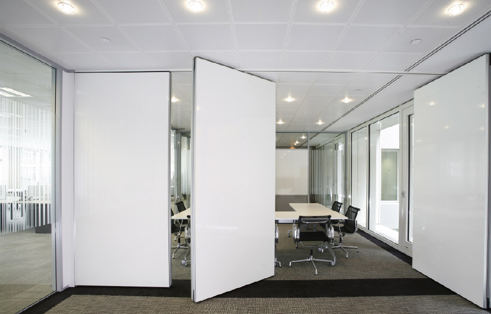 Pareti mobili per dividere gli spazi senza opere murarie