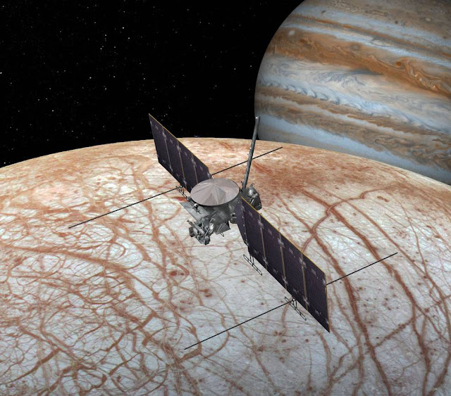 Missão a Lua Europa