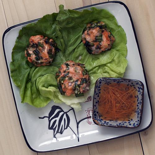 Thai Salmon Cakes Recipe