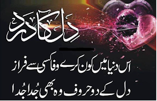 Iss Duniya main Kon karay Wafa kisi say Faraz | Ahmed Faraz Poetry - Urdu Poetry Lovers