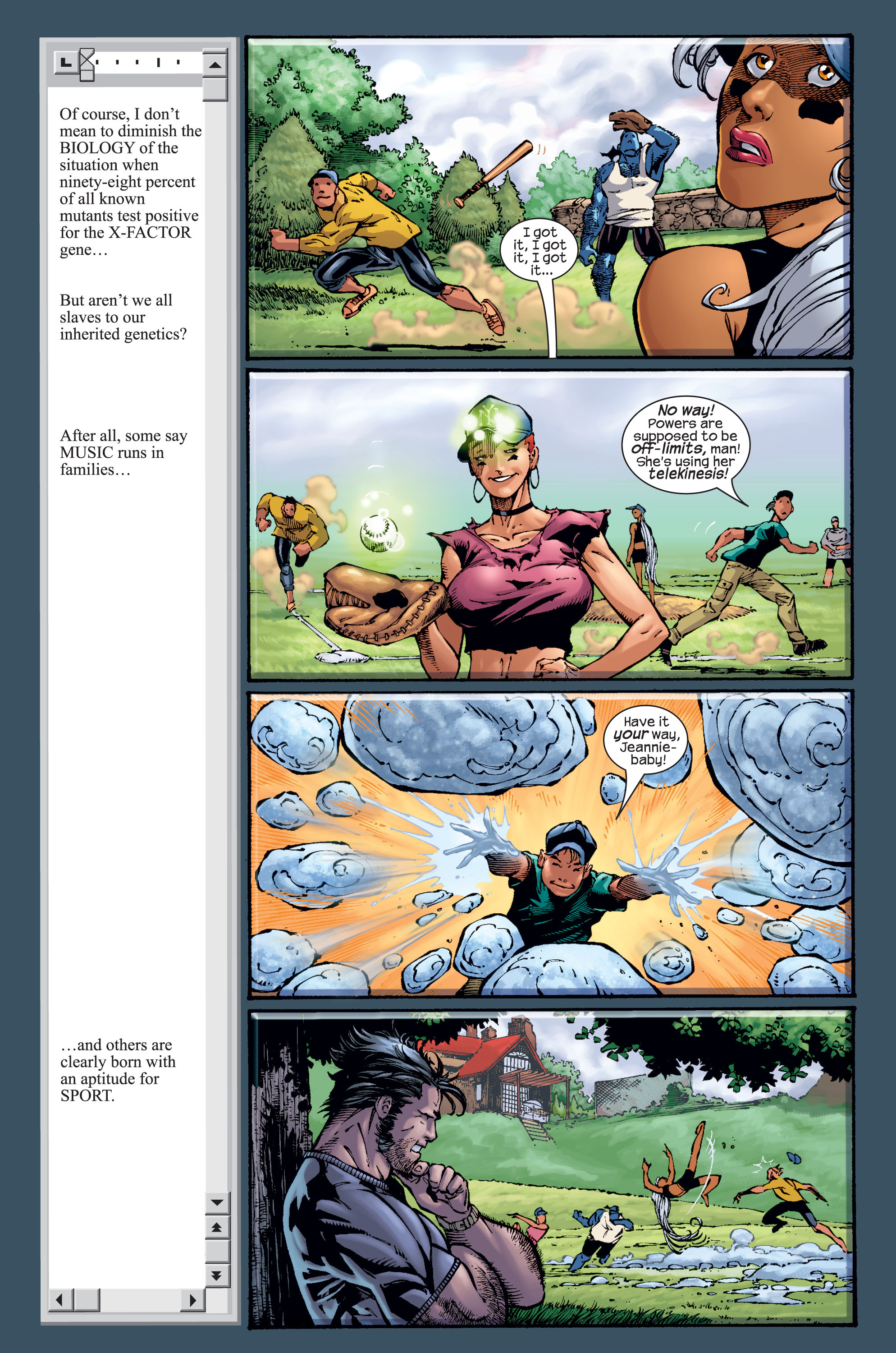 Read online Ultimate X-Men comic -  Issue #15 - 7