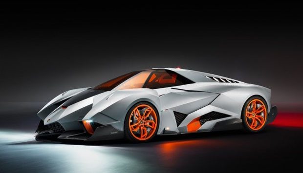 Egoista Lamborghini Name Is Taken From The Italian Language Meaning Selfish Because This Super Luxury Car And Can Only Be Used By One Person