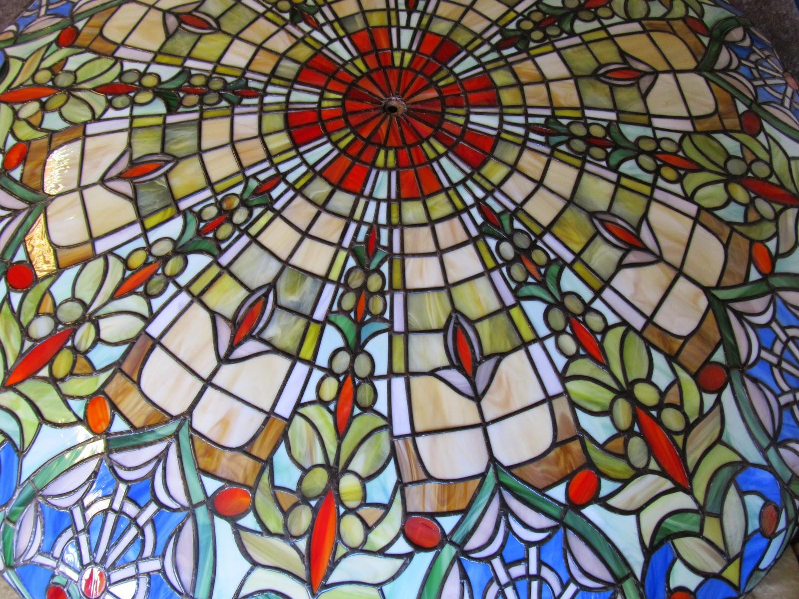 tiffany lustr - vitráže