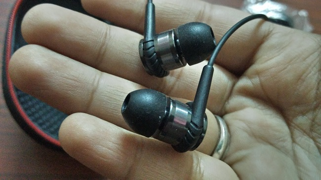Earphone Close Up