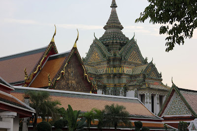 Siam Thai style architecture in Bangkok