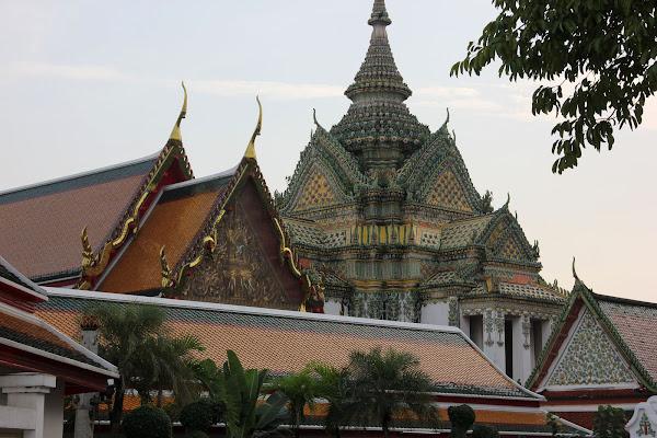 Arquitectura Tailandesa estilo de Siam en Bangkok