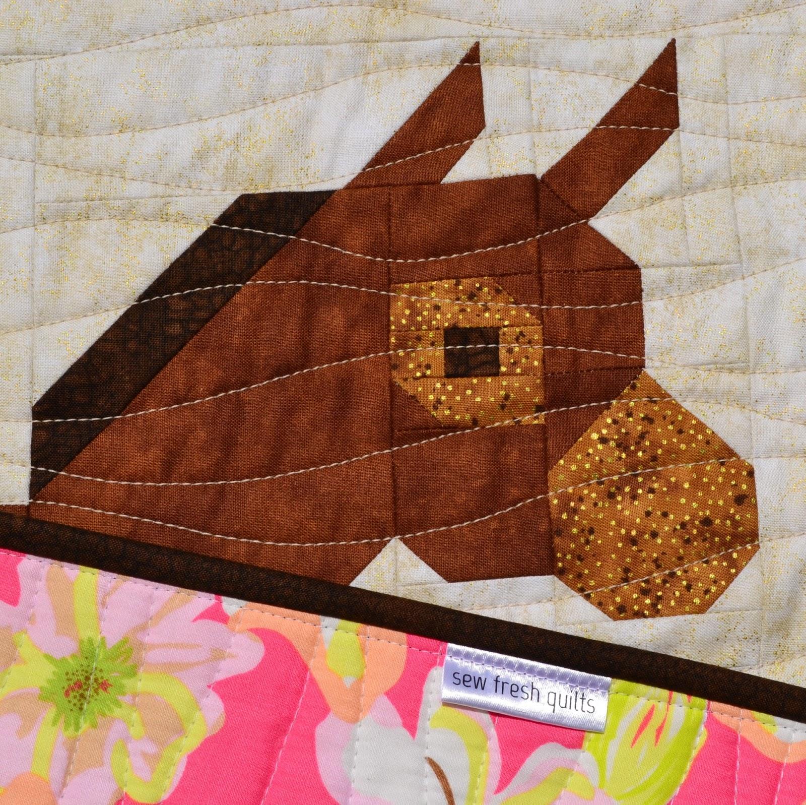 sew fresh quilts desert donkeys