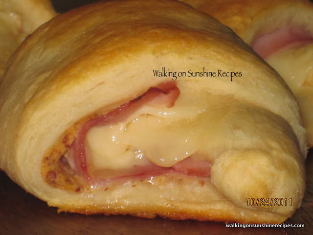 Ham and Cheese Crescents