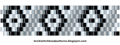Free Brick Stitch Bead Pattern 11 Download
