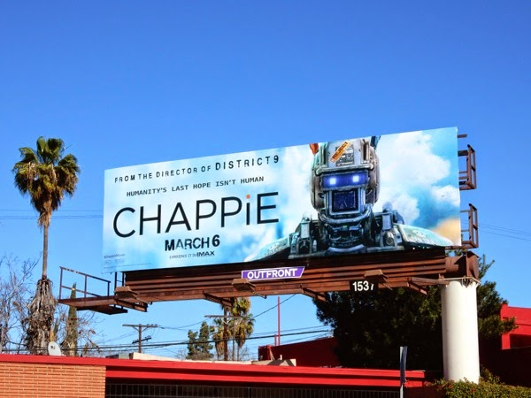 Chappie film billboard
