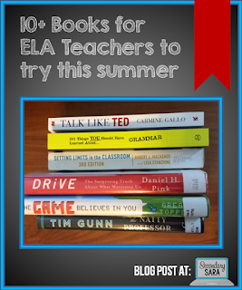 Looking to do some personal professional development during your summer break? This post shares a list of 10 books that English language arts teachers should consider reading during the summer when they've got some spare time. Check out the list to improve your ELA teaching!