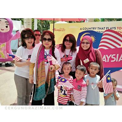 JomMalaysia carnival, sunway hotel resort and spa, sunway resort hotel & spa petaling jaya, selangor, malaysia day, sunway group, evolution tunnel, heritage street