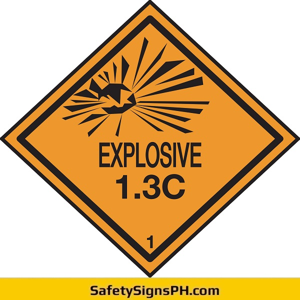 Explosive Warning Sign Philippines