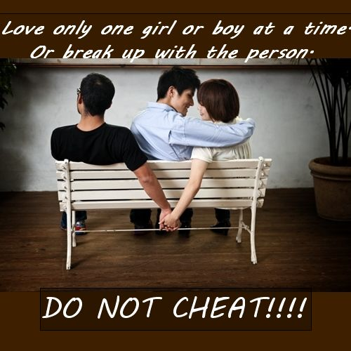 Cheat a with a girl