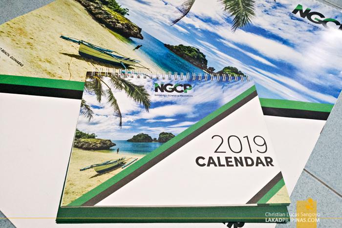 NGCP 2019 Calendar