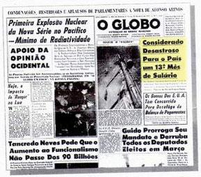 Em 1962 Globo foi contra a criação do 13º salário para o trabalhadores, hoje é contra aposentaria