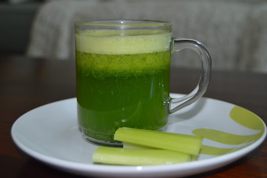 3 ingredients liver cleanse green juice