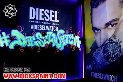 graffiti uv glow jakarta