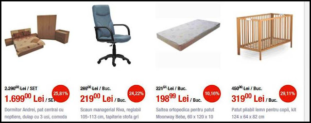 catalog mathaus reduceri black friday scaune de birou si patuturi de copii