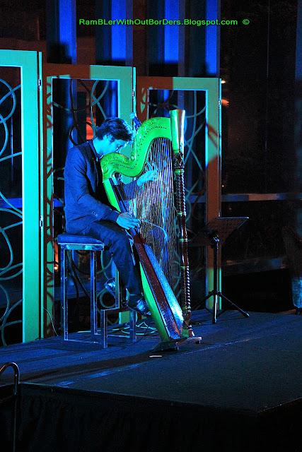 Harpist, Radisson Blu Hotel, Cebu, Philippines