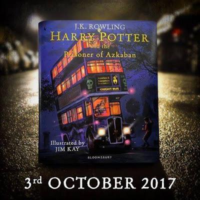 Edição Ilustrada de Harry Potter e o Prisioneiro de Azkaban