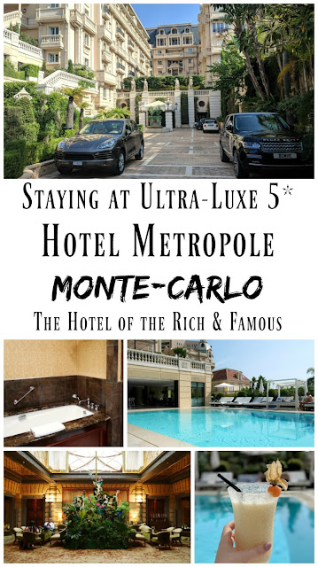 PIN FOR LATER: Staying at ultra-luxury five-star Hotel Metropole in Monte Carlo, Monaco. The hotel of the rich and famous!