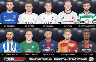 PES 18 Mega Facepack From PES 2019 V.7 By Sofyan Andri