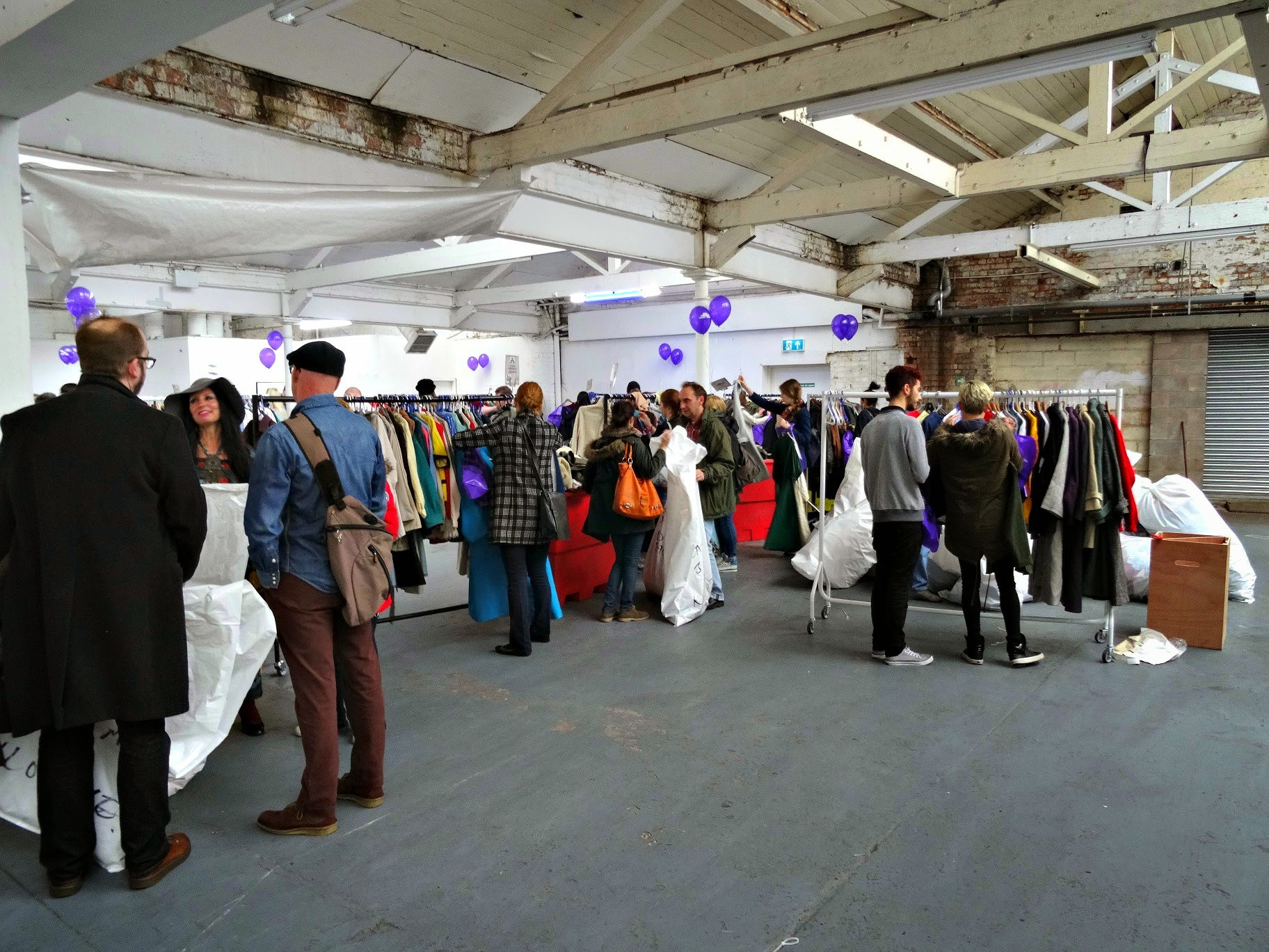 Vintage shopping in Birmingham at the custard factory