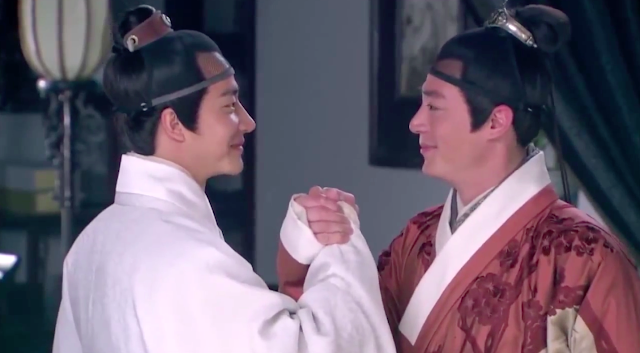 Wallace Huo and Huang Xuan in popular cdrama Imperial Doctress
