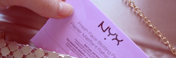 Nyx blotting papers antibrillo