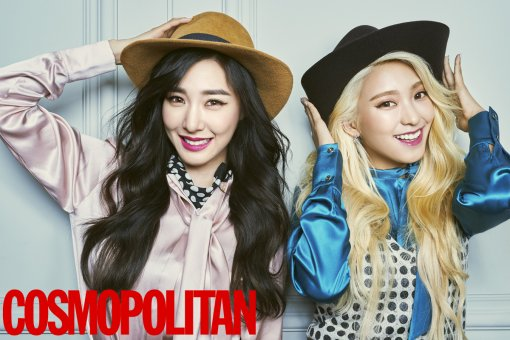 Tiffany Bora September Issue COSMOPOLITAN Girls' Generation Sistar photo shoot HARPER's BAZAAR January enjoy korea K-Pop hui