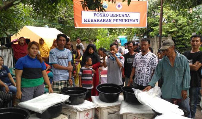 Diam-diam, IYL Instruksikan PMI Bantu Korban Kebakaran di Bantaeng
