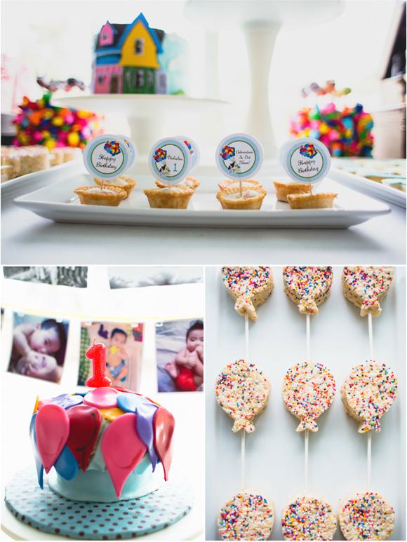 Balloon Birthday Cake Ideas